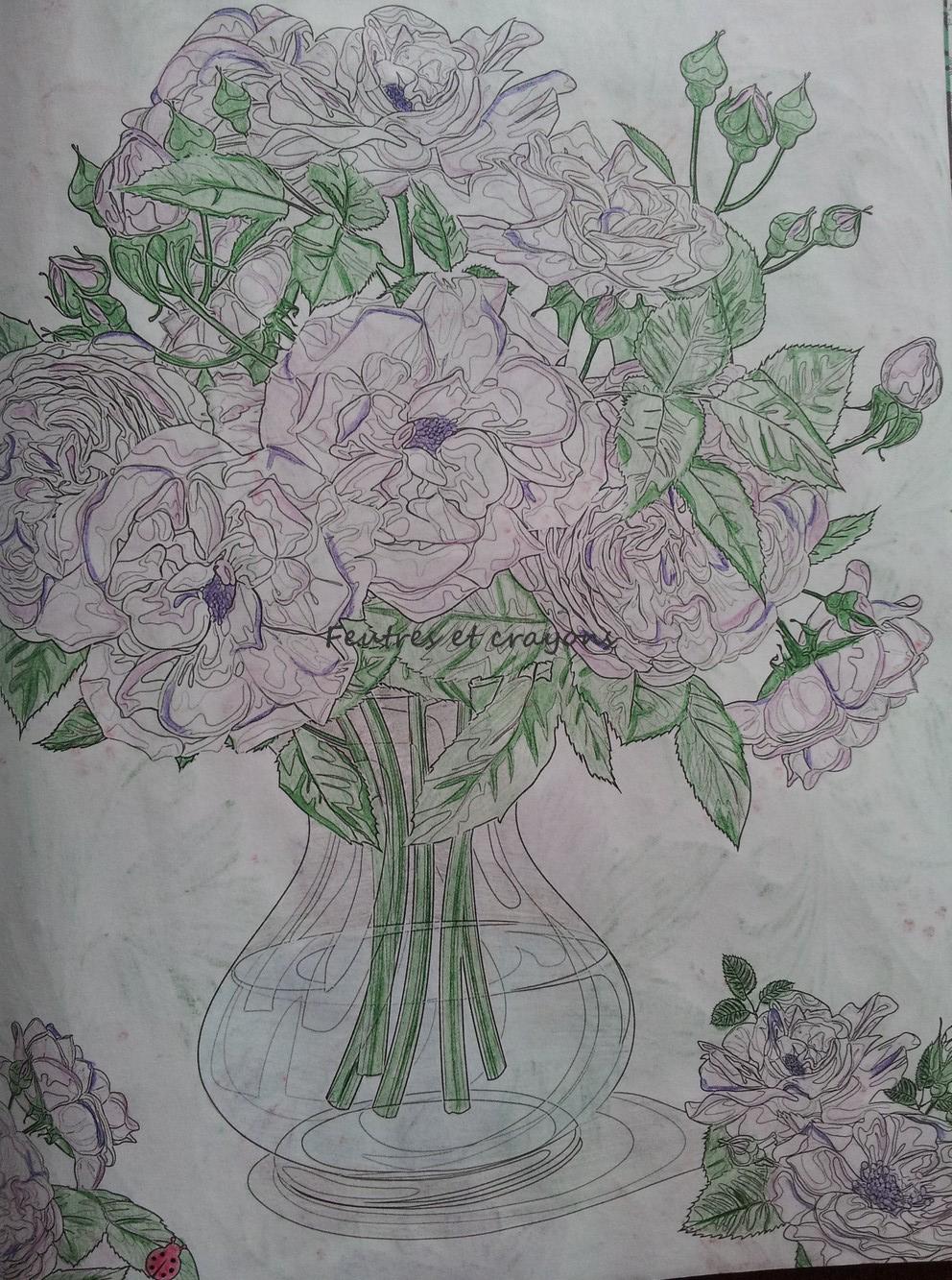 Magazine Coloriage Zen N 1 Fleurs